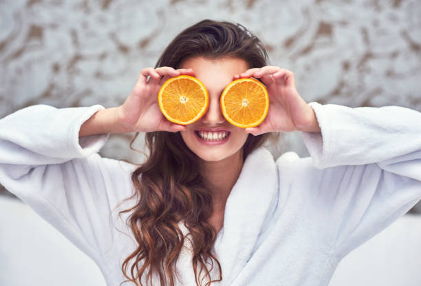 Oranges will improve your sight