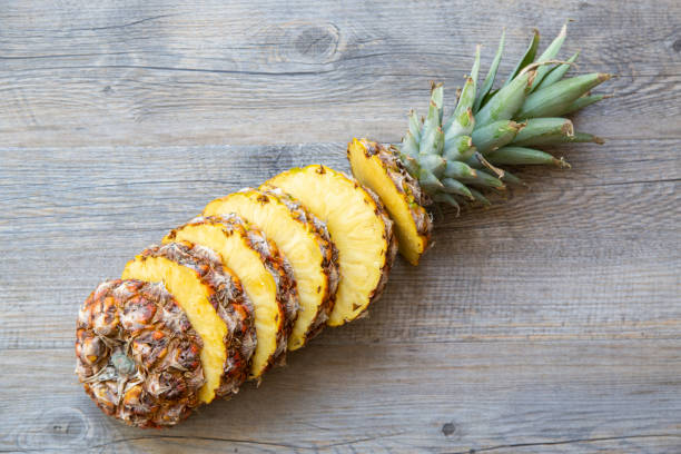 Whole sliced pineapple - High in Vitamin C