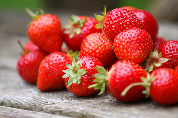 Strawberries High in Vitamin C