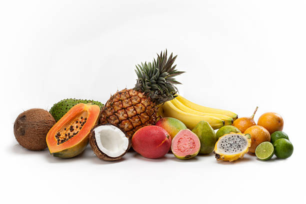 Types of tropical Fruits