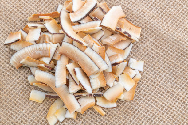 sun-dried coconut