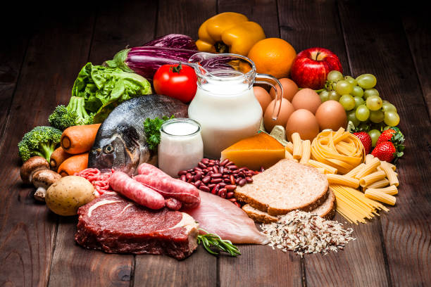 carbohydrates, protein and dietary fiber