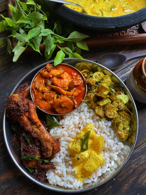 Spicy and Oily Non-Veg Food