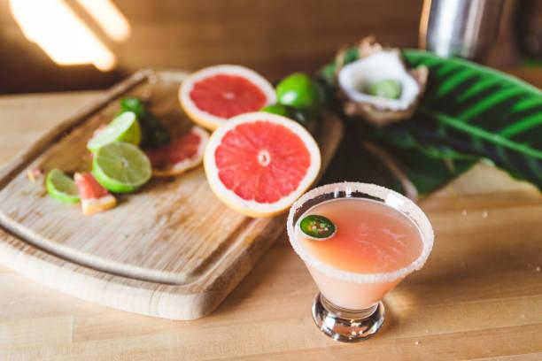 grapefruit juice and vodka