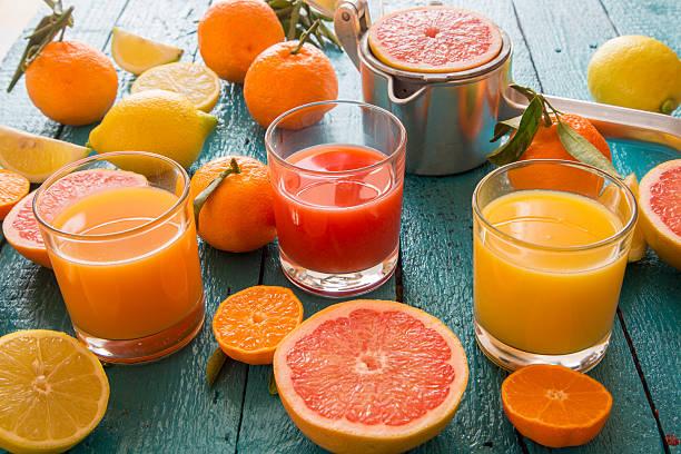 grapefruit juice cocktails