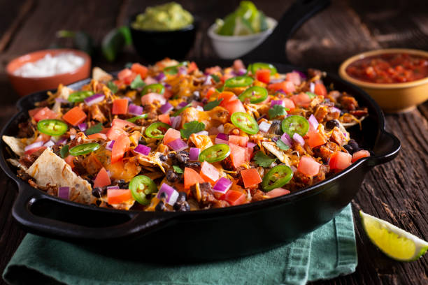 tomato and black beans.